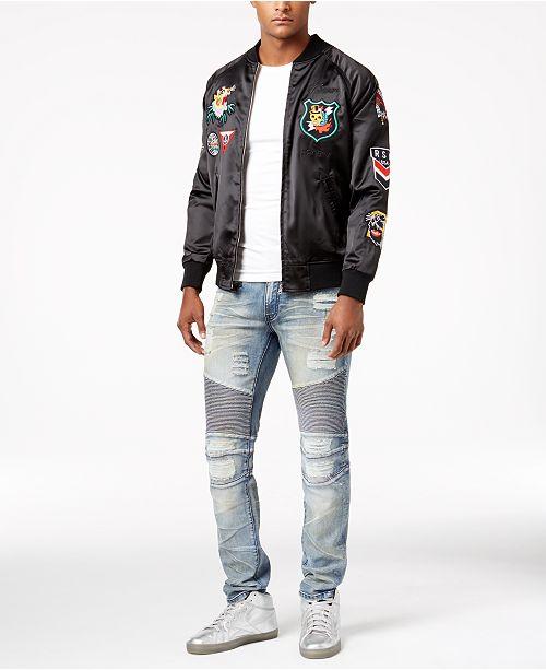 dee860b2fb47 Reason Flying Tigers Jacket   Ripped Denim Jeans   Reviews - Men s ...