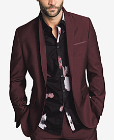 I.N.C. Men's Slim-Fit Burgundy Blazer, Created for Macy's