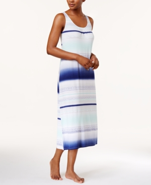 Alfani Striped Knit Nightgown,...