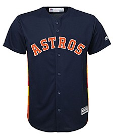 Toddlers' Houston Astros Blank Replica CB Jersey
