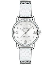COACH Women's Delancey Stainless Steel Bangle Bracelet Watch 28mm 14502765