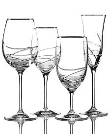 Waterford Stemware, Ballet Ribbon Essence Platinum Collection