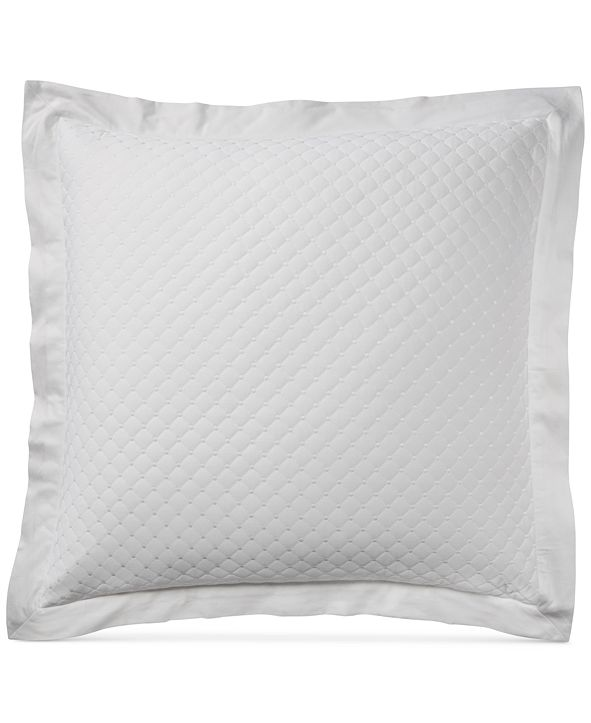 Charter Club Cotton Quilted European Sham, Created for Macy's