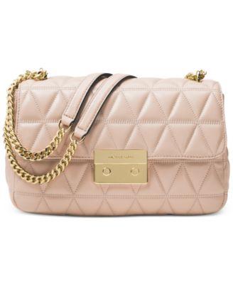 michael kors sloan large chain shoulder bag handbags accessories rh macys com