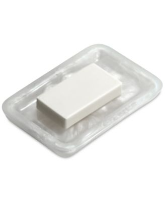 Murano White Soap Dish