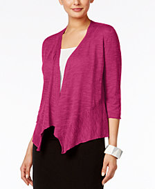 Alfani Draped Cardigan, Created for Macy's