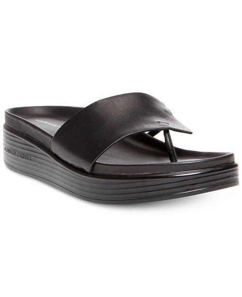 fc0268963109 Donald Pliner Fifi Platform Slide Sandals   Reviews - Sandals   Flip ...