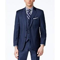 Tommy Hilfiger Sharkskin Modern-Fit Jacket (Blue)