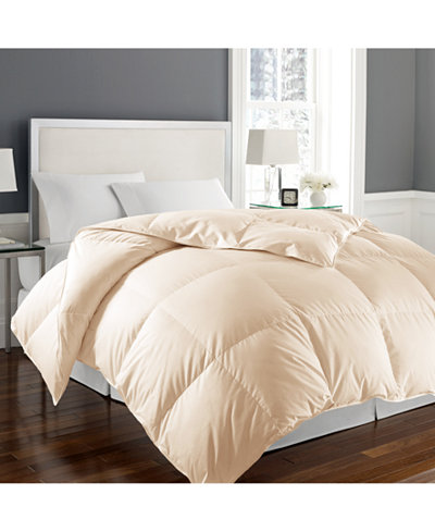 Blue Ridge 1000-Thread Count White Goose Down Twin Comforter