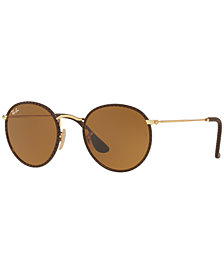 Ray-Ban ROUND CRAFT Sunglasses, RB3475Q