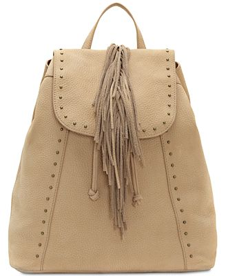Lucky Brand Fringed Medium Backpack