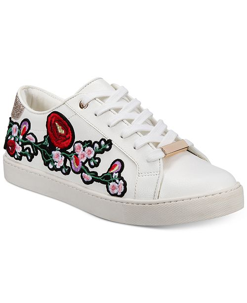 908fbc9d3ea ALDO Women s Kinza Embroidered Lace-Up Sneakers   Reviews ...