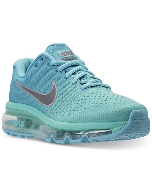 separation shoes fa970 e6288 Nike Big Girls' Air Max 2017 Running Sneakers from Finish ...