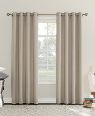 "Eunice 50"" x 84"" Room Darkening Triple-Lined Grommet Curtain Panel"