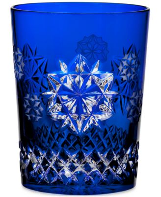 Snowflake Wishes For Friendship Prestige Edition Double Old Fashioned Glass