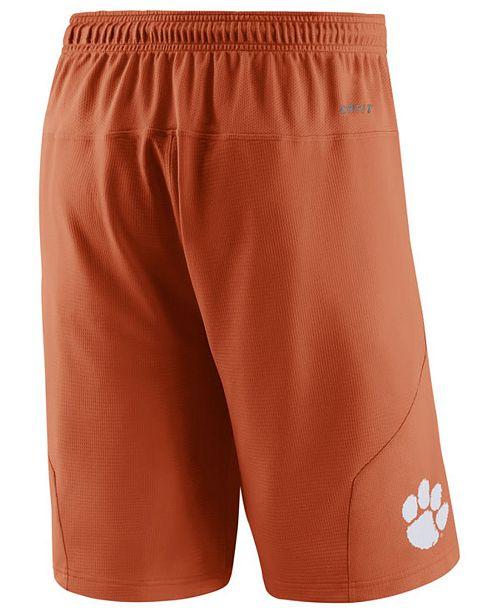 4253cda6a041 Nike Men s Clemson Tigers Fly XL 5.0 Shorts   Reviews - Sports Fan ...