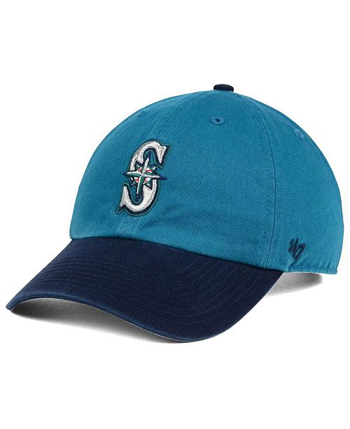 '47 Brand Seattle Mariners Cooperstown CLEAN UP Cap