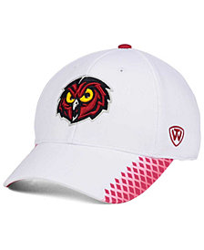 Top of the World Temple Owls Merge Stretch Cap