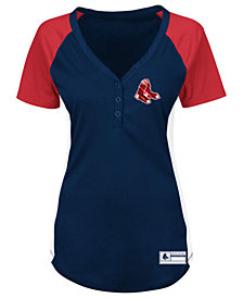 Profile Women's Boston Red Sox League Diva Plus Size T-Shirt