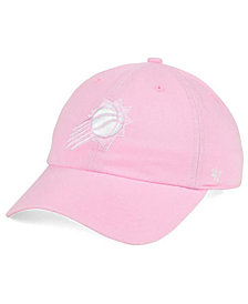 '47 Brand Women's Phoenix Suns Petal Pink CLEAN UP Cap