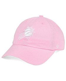 '47 Brand Women's Phoenix Suns Petal Pink CLEAN UP Cap