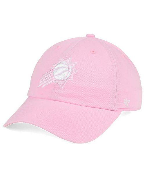 Women's Phoenix Suns Petal Pink CLEAN UP Cap