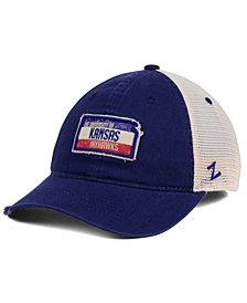 Zephyr Kansas Jayhawks Roadtrip Patch Mesh Cap