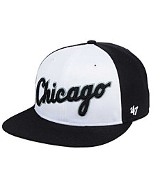 '47 Brand Chicago White Sox Script Side Snapback Cap