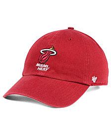 '47 Brand Miami Heat Clean Up Cap