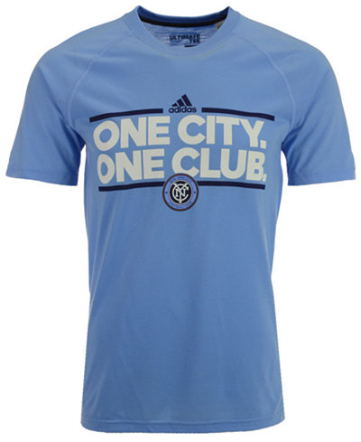 adidas Men's New York City FC Dassler Local T-Shirt
