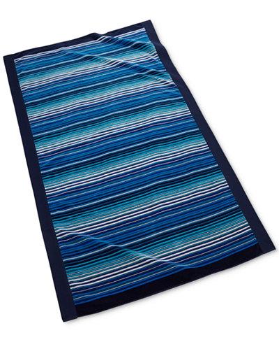 CLOSEOUT! Kassatex Zanzibar Cotton Beach Towel