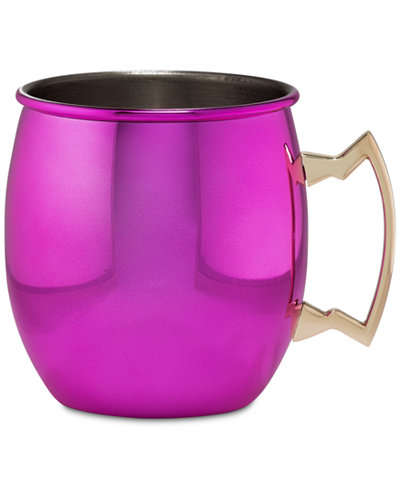 CLOSEOUT! Thirstystone Metallic Pink Moscow Mule Mug with Classic Handle