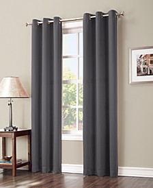 """Preston 40"""" x 95"""" Grommet Top Blackout Curtain Panel"""