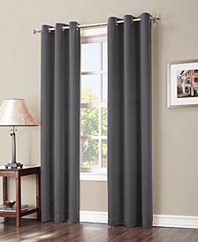"Sun Zero Preston 40"" x 95"" Blackout Grommet Curtain Panel"