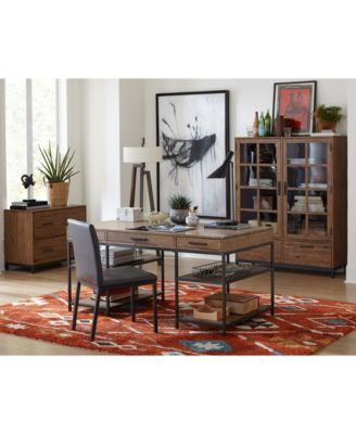 Gatlin Home Office 3-Pc. Furniture Set (Desk, Lateral File & Desk Chair), Created for Macy's