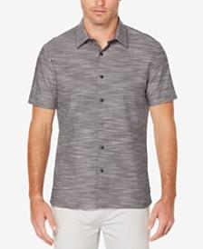 Perry Ellis Men's Classic Fit Textured Shirt
