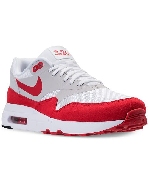 quality design 0a3fb 128a1 Nike Men s Air Max 1 Ultra 2.0 LE Casual Sneakers from Finish ...