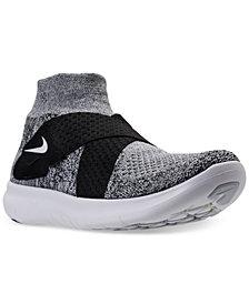 Nike Women's Free Run Motion Flyknit 2017 Running Sneakers from Finish Line