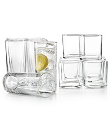 Rika 16-Pc. Glassware Set