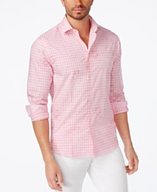 Pink Mens Casual Button Down Shirts & Sports Shirts - Macy's