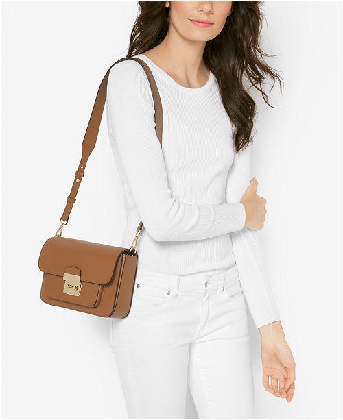 a4ab0f8c9f55 Michael Kors Sloan Editor Leather Shoulder Bag   Reviews - Handbags ...