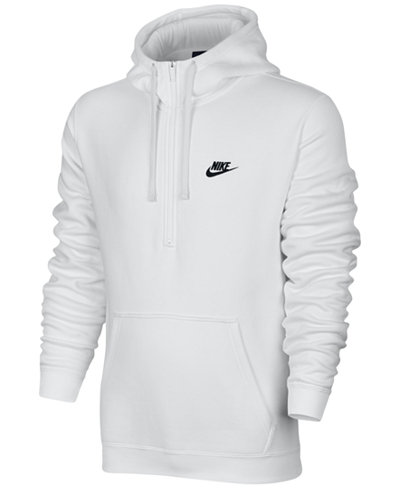nike men 39 s half zip hoodie hoodies sweatshirts men. Black Bedroom Furniture Sets. Home Design Ideas