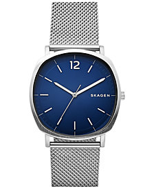Skagen Men's Rungsted Stainless Steel Mesh Bracelet Watch 40x40mm SKW6380