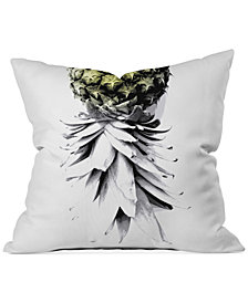 "Deny Designs Deb Haugen Pineapple 1 16"" Square Decorative Pillow"