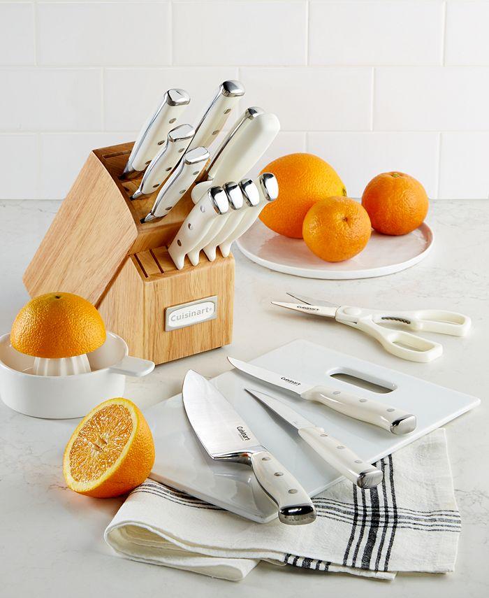 Cuisinart - 15-Pc. Triple Riveted Cutlery Set