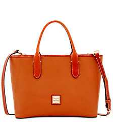 Dooney & Bourke Brielle Pebble Leather Satchel