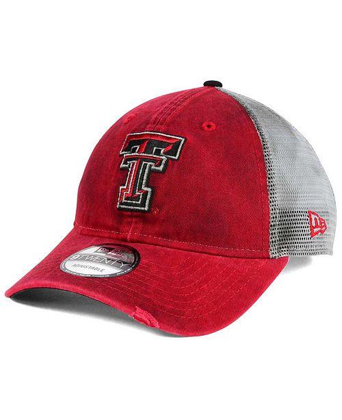 New Era Texas Tech Red Raiders Team Rustic 9TWENTY Cap