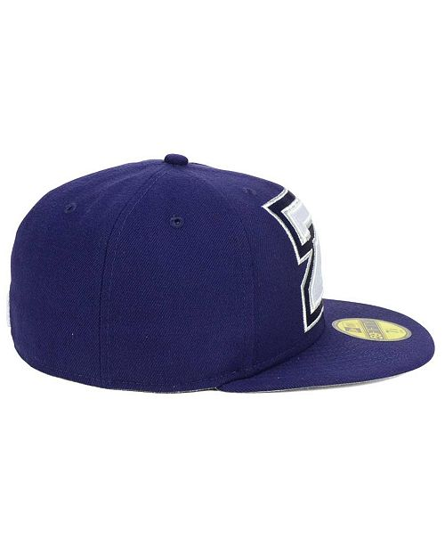 64321cc27a7a1 New Era New Orleans Zephyrs MiLB Logo Grand 59FIFTY Fitted Cap ...