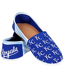 Forever Collectibles Kansas City Royals Canvas Logo Shoe