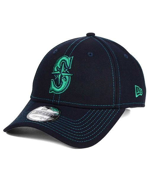 new arrival 6ead4 d52cb ... New Era Seattle Mariners The League Classic 9FORTY Adjustable Cap ...